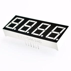 Display Led 4 Dígitos 7 Segmentos Vermelho - Catodo