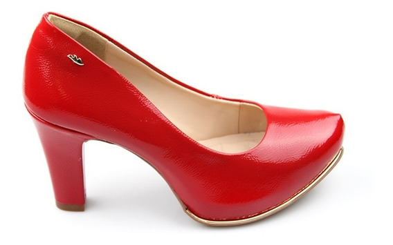 Sapato Dakota B9851 Feminino Salto Grosso 359861 | Calcebel