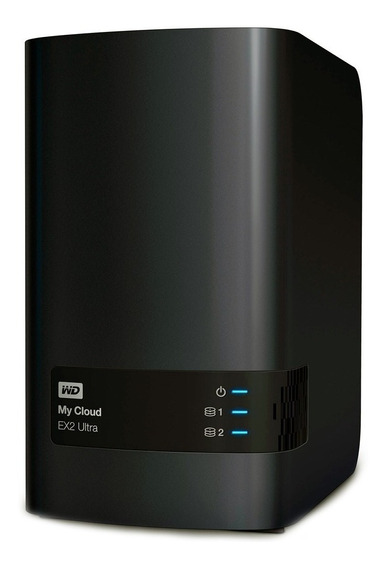 Servidor Nas Storage Wd My Cloud Expert Ex2 Ultra 2 Bay S/hd