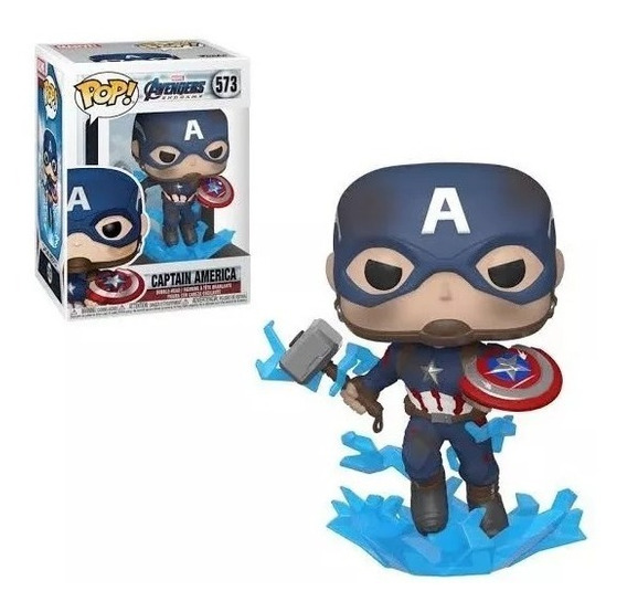 Funko Pop! Marvel Capitán América Martillo 573. Fun Labs.