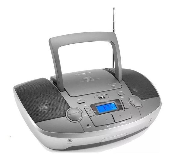 Micro System Boombox Cdbt-838 Cd Bluetooth Fm Usb Mp3 Sd