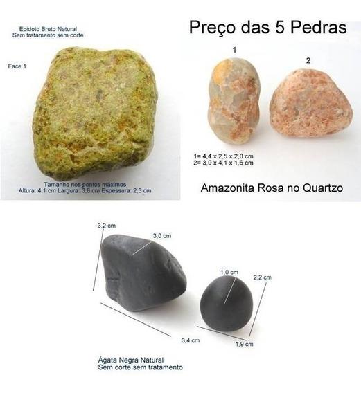 Epídoto Amazonita Rosa Ágata Negra 710571087109