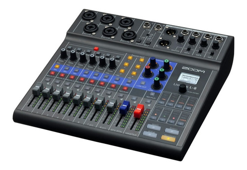 Mixer Zoom Livetrak L8 Streaming Multitrack Vivo - Palermo