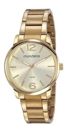 Relógio Mondaine Fem Dourado, 53819lpmvde1