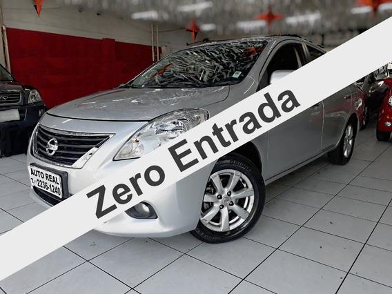 Nissan Versa 1.6 Sl Flex / Ótimo Carro Para Uber / Financia!
