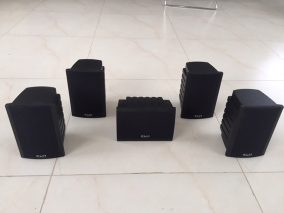 Kit 5 X Caixas De Som De Home Theater Modelo Klh Ss-02