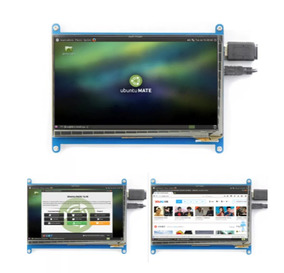 Display Tela 7 Polegadas Capacitivo 800x480 Raspberry Pi