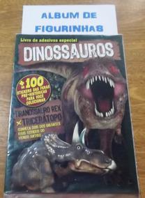 Livro De Adesivos Especiais - Dinossauros