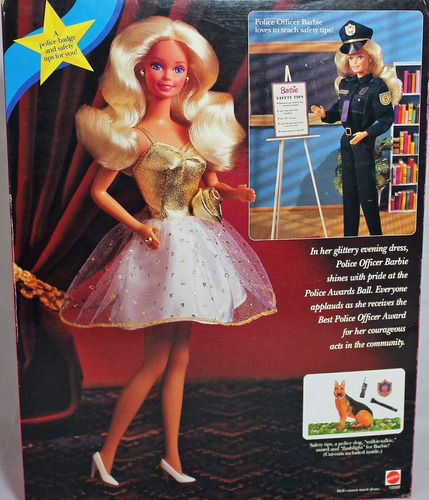 Imagen 1 de 2 de Oficial De Policia Barbie  Juguete