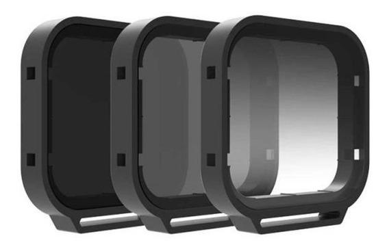 Filtros Polarizador Nd8 E Nd8/gr P/ Gopro Hero 5 6 7 Black