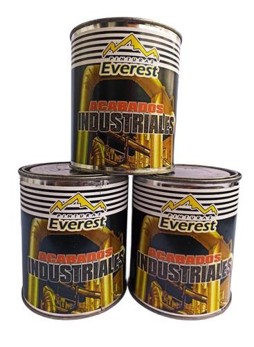 Pintura Esmalte Metalizado Oro, Plata Y Bronce 1/4  Everest