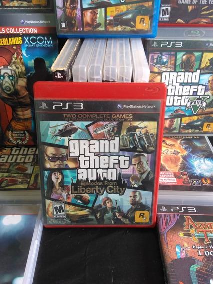 Jogo Gta Episodes From Liberty City Playstation3 Ps3 Original Mídia Física Barato