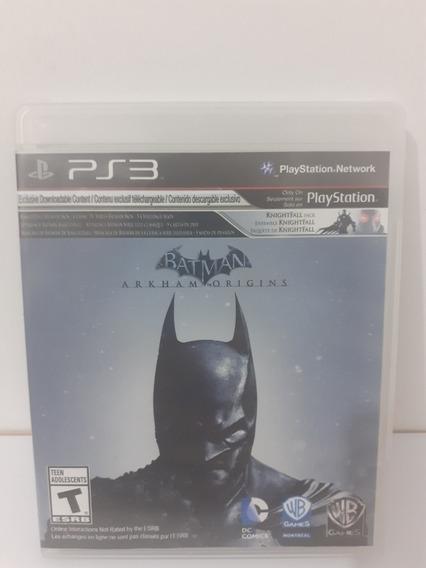 Jogo Batman Arkham Origina Ps3 Mídia Física Completa