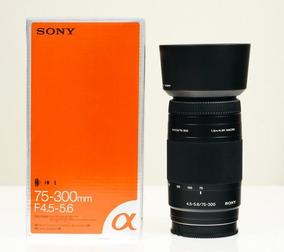 Lente Sony 75-300mm F/4,5-5,6 Ce N50