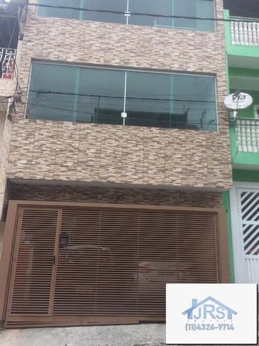 Imagem 1 de 18 de Sobrado Com 2 Dormitórios À Venda Por R$ 400.000,00 - Vila Da Oportunidade - Carapicuíba/sp - So0993