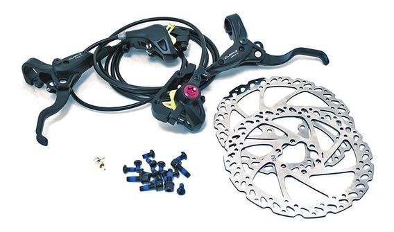 Frenos De Disco Hidraulicos Bicicletas Clarks M2 C/rotores
