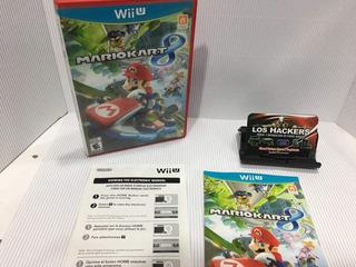 Juego De Wiiu Mario Kart 8 Original Con Manuales