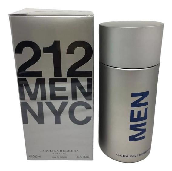 Perfume 212 Men 200 Ml -100% Original / Lacrado