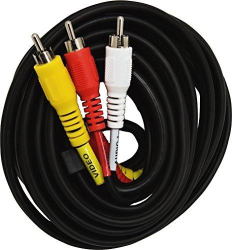 Imagen 1 de 2 de Cable De Audio / Video Ge 23216 Rg59 Coaxial (6 Pies)