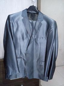 Terno Cinza Grafiti (palito 60 / Calça 56)