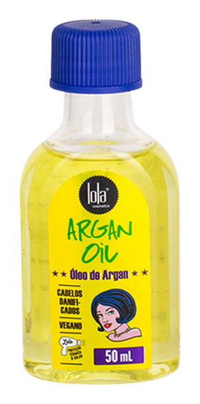 Lola Cosmetics Argan Oil - Óleo Capilar 50ml