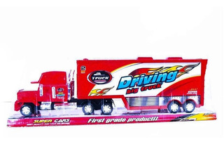 Mula Camion Tractomula 45cm Cars Trailer Mack Rayo Mcqueen