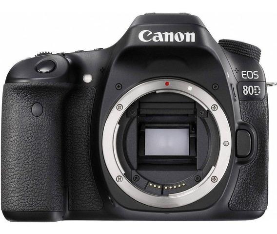 Canon Eos 80d Dslr Preta