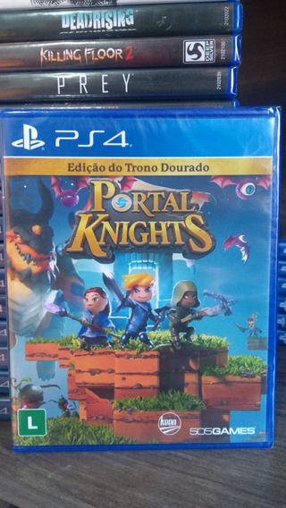 Portal Knight Mídia Física Lacrado Playstation 4