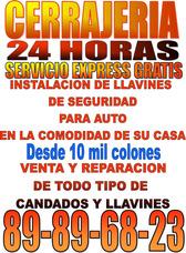 Cerrajeria San Jose 89896823 Express 24 Horas