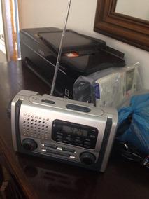 Radio Am Fm Lanterna Alarme Luz De Led Para Leitura Raridade