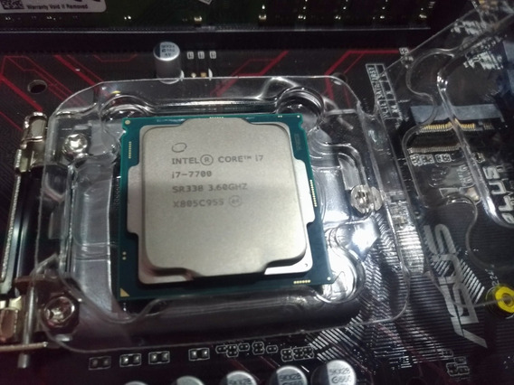 Processador Intel I7 7700 7ger Sk1151 + Cooler Intel