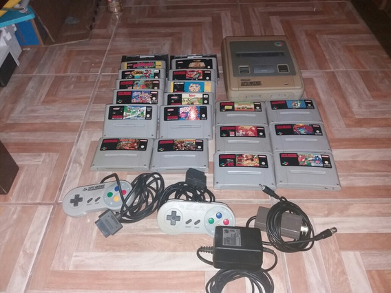 Super Nintendo Europeu Super Famicom