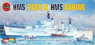 Barco Hms Tiger & Hms Daring Escala 1/600 Airfix 04213