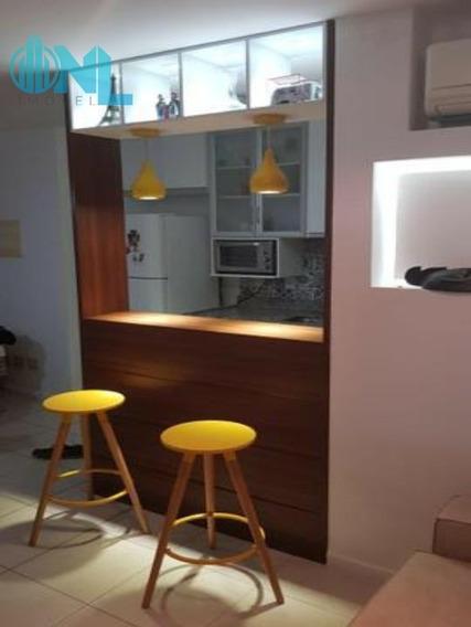 Apartamento 1/4 No Edf. Mandarim Caminho Das Árvores ! - N1709 - 34305632