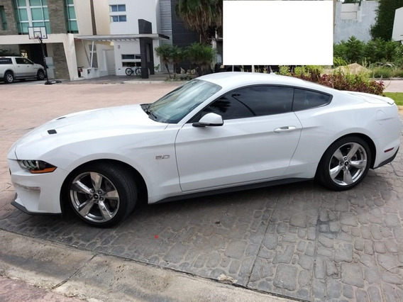 Ford Mustang Gt 5.0lts 2018 Blanco