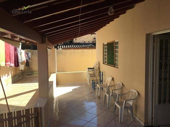 Casa Com 3 Dormitórios À Venda, 160 M² Por R$ 460.000 - Jardim Santo Antônio - Mogi Guaçu/sp - Ca1325