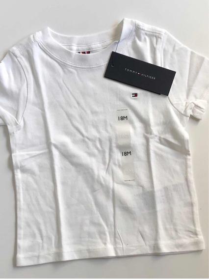Camiseta Infantil Bebê Tommy Hilfiger