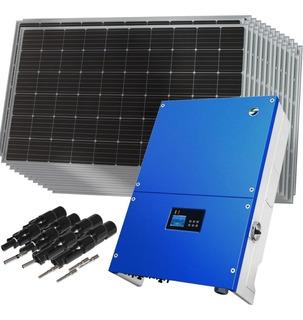 Kit Solar Inversor Trifásico 30000w + Paneles - Enertik