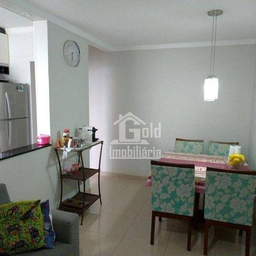 Imagem 1 de 9 de Apartamento Com 2 Dormitórios À Venda, 47 M² Por R$ 160.000,00 - Jardim Manoel Penna - Ribeirão Preto/sp - Ap4623