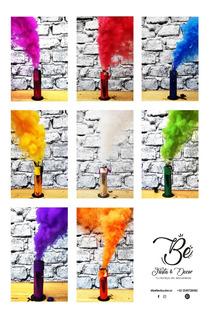 1 Humo Color Gender Reveal 25-40seg Bengala Bomba Holi