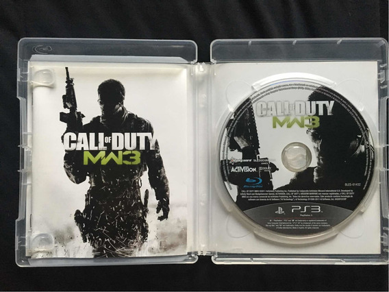 Jogo Call Of Duty Modern Warfare 3 Ps3 Original