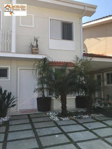 Sobrado Com 3 Dormitórios À Venda, 201 M² Por R$ 1.100.000,00 - Bairro Do Limoeiro - Arujá/sp - So0361