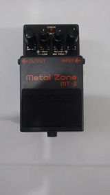 Pedal Boss Mt 2 Metal Zone Mt2 - Original