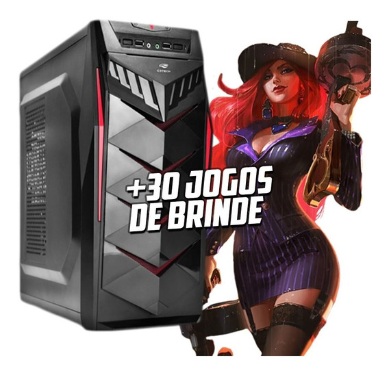 Cpu Gamer /core I5/ 8gb/ssd120/ Gtx1050 4gb Ti/ Wifi/ Gab.