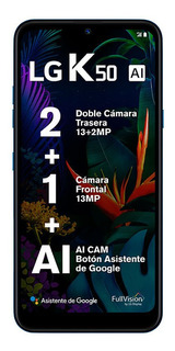 Celular Lg K50 6,26 Tft Hd+ 32 Gb 3 Gb 13/13mp Android Pie