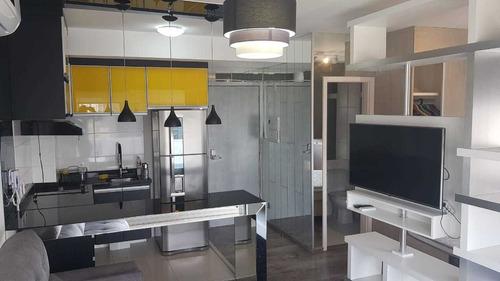 Studio Apartamento À Venda Com 33m² Chacara Santo Antonio Sp