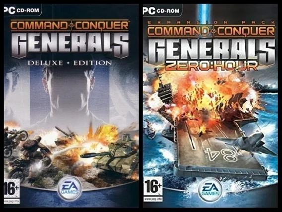 Command & Conquer Generals + Zero Hour - Envio Digital Pc