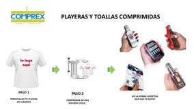 Playera Algodón Comprimida Promocional