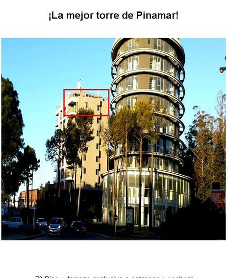 Vendo Semi Piso + Cochera + Terraza + C/amenities Pinamar