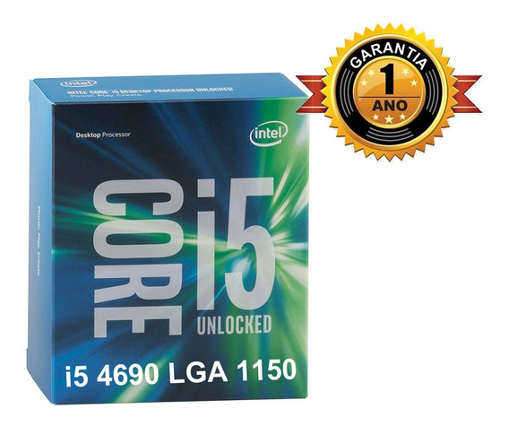 Processador Intel Core I5 4690 3.5 Lga 1150 Garantia 1 Ano.